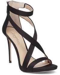 Imagine Vince Camuto Devin Satin High Heel Ankle Strap Sandals