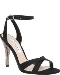 Nina Meryly Satin Ankle Strap Heel