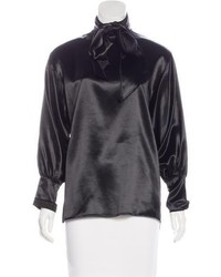 Chanel Paris Dallas Satin Blouse