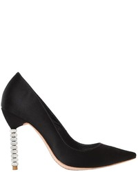 Sophia Webster 100mm Coco Crystal Satin Pumps