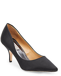 Badgley Mischka Satin Pumps