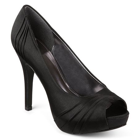 $19, Worthington Dante Satin Peep Toe Pumps