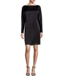 Polo Ralph Lauren Satin Boatneck Shift Dress