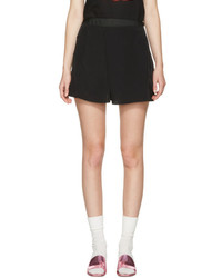 Carven Black Fluid Shorts