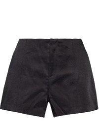 Rag & Bone Em Swiss Dot Cotton Blend Satin Shorts