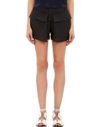 Wayne Silk Cargo Shorts