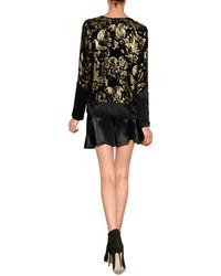 Anna Sui Silk Shorts