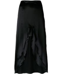MARQUES ALMEIDA Marquesalmeida Slit Detail Crepe Skirt