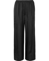 Marc Jacobs Striped Satin Jacquard Pants
