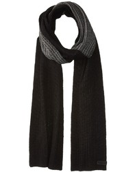 Calvin Klein Bi Color Reversible Scarf Scarves