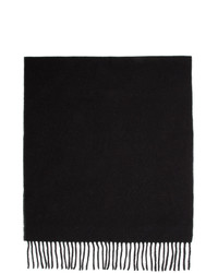 Won Hundred Black And Grey Wool Vanessa Doubled Scarf