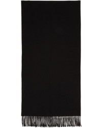 Acne Studios Black Canada Narrow Scarf