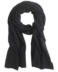 J.Crew Cashmere Ribbed Scarf
