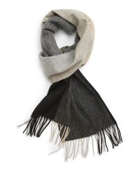 Nordstrom Men's Shop Colorblock Cashmere Scarf