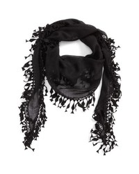 Saint Laurent Fringed Scarf