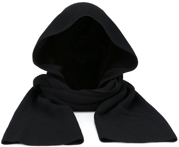 Helmut Lang Hooded Scarf