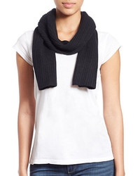 Lord & Taylor Knit Cashmere Scarf