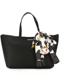 Love Moschino Cow Scarf Detail Tote