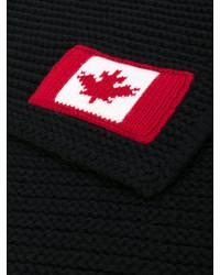 DSQUARED2 Maple Logo Scarf