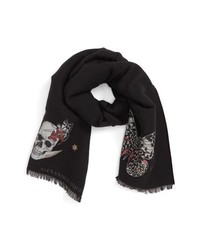 Alexander McQueen Moonlight Fil Coupe Scarf