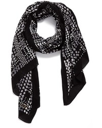 Kate Spade New York Dotty Oblong Scarf