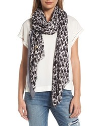 Kate Spade New York Inked Texture Oblong Twill Scarf