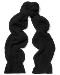 Npeal Cashmere Cable Knit Cashmere Scarf