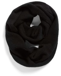 Halogen Pointelle Knit Wool Cashmere Infinity Scarf