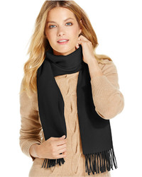 Charter Club Solid Woven Cashmere Scarf Only At Macys