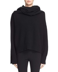 Helmut Lang Wool Cashmere Hooded Scarf