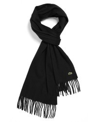 Lacoste Wool Cashmere Scarf