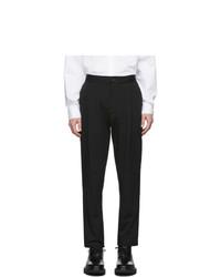 Black Seersucker Dress Pants