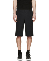 Givenchy Black Seersucker Shorts