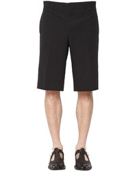 Givenchy Cotton Seersucker Bermuda Shorts