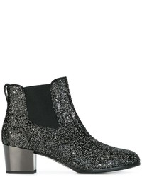 Hogan Sequined Ankle Boots