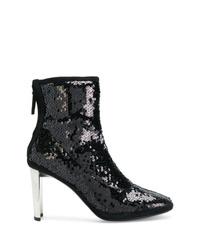 Giuseppe Zanotti Design Luce Sequinned Booties