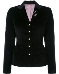 Blazer with sequin appliqu medium 5266908