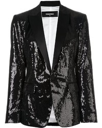 Dsquared2 London Peak Sequined Blazer