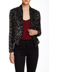 Haute Hippie Sequin Embellished Silk Jacket