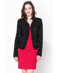 Nicole Miller Jumbled Sequins Jacket