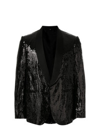 Christian Pellizzari Sequin Smoking Jacket