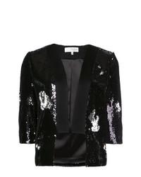 Sequined cropped blazer medium 8265077
