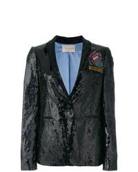 Sequined foulard blazer medium 8163850