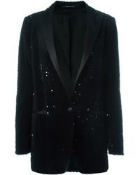 Tagliatore Sequin Tuxedo Blazer