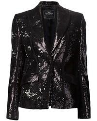 Unconditional Sequin Embellished Blazer