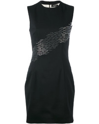 Sequin detail fitted dress medium 3664852