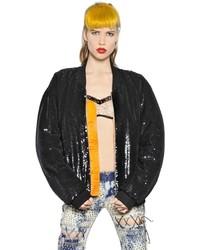 Ashish sequined padded bomber jacket medium 1157734