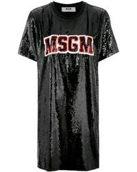 MSGM Branded T Shirt Dress