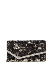 Jimmy Choo Emmie Sequin Clutch