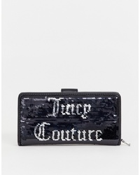 Juicy Couture Juicy Black Label Laton Purse In Black Sequin